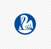 pelikan blue circle logo