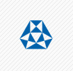 blue and white triangles logo quiz answer