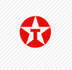 texaco red circle with white star and T letter inside