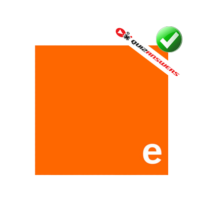 logo quiz orange