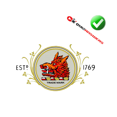 http://www.quizanswers.com/wp-content/uploads/2013/03/red-boar-head-golden-roundel-logo-quiz.png