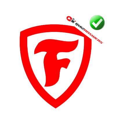 Red F Logo In Shield | www.pixshark.com - Images Galleries ...