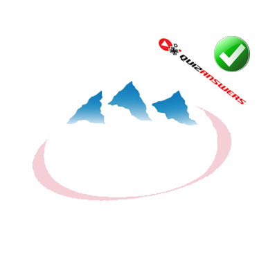 http://www.quizanswers.com/wp-content/uploads/2013/03/three-blue-mountain-tops-pink-oval-logo-quiz.png