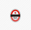 beks red circle with black line in middle logo quiz level 12