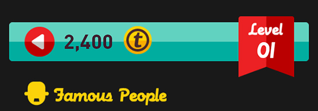 Icon Pop Quiz Famous People level 1 answers
