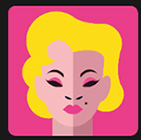blond woman icon pop quiz