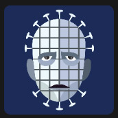man with square face and many pins level 5