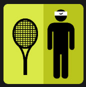 icon quiz tennis player