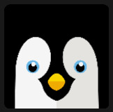 blue eyes penguin character