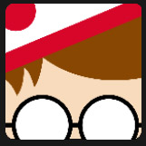 red hair character wearing white and red cap