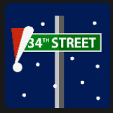 street sign 34 holiday film