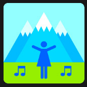 woman and music and mountains quiz