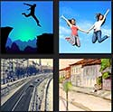 http://www.quizanswers.com/wp-content/uploads/2013/09/4-pics-1-movie-two-girls-jumping-and-raod.jpg