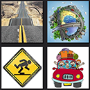 http://www.quizanswers.com/wp-content/uploads/2013/10/4-pics-1-movie-level-3-cheats-road-sign-car-tripp.png