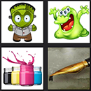 4 pics 1 movie green monster, colors, pen, level 5 answer