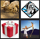4 pics 1 movie gift, woman warchery