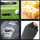 4 pics 1 movie game circus llc golf court and hole cheese
