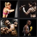 4 pics fighter, box, fight