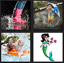 4 pics 1 movie answers level 7 water, splash, marmaid