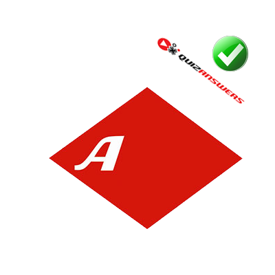http://www.quizanswers.com/wp-content/uploads/2014/02/letter-a-white-red-rhombus-logo-quiz.png