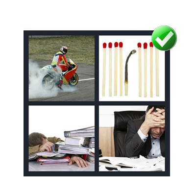 http://www.quizanswers.com/wp-content/uploads/2014/06/4-pics-1-word-7-letters-Burnout.png