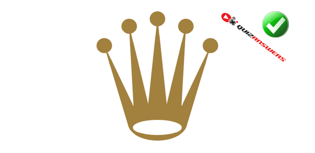 logo quiz yellow crown