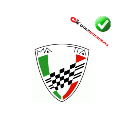 http://www.quizanswers.com/wp-content/uploads/2014/06/green-red-white-shield-finish-line-flag-logo-quiz-cars.png