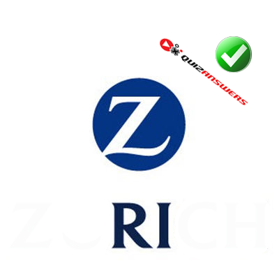 Zurich  Z Logo Blue Circle