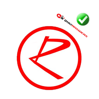 Red Circle With R Logo Red Circle Logo With R...