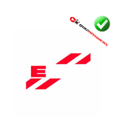 http://www.quizanswers.com/wp-content/uploads/2014/06/two-red-diagonal-lines-red-letter-e-logo-quiz-cars.png