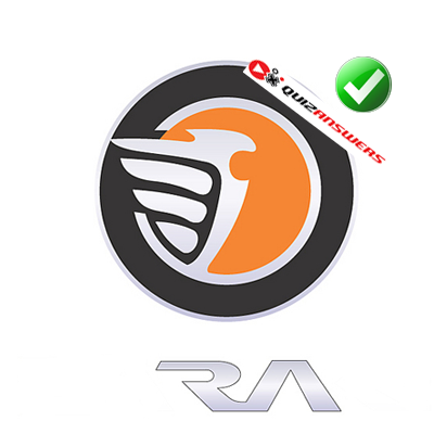 http://www.quizanswers.com/wp-content/uploads/2014/06/white-bird-round-orange-gray-background-logo-quiz-cars.png