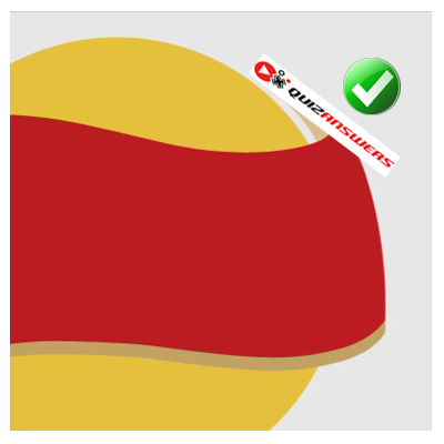 ... /2014/06/yellow-circle-red-ribbon-logo-quiz-hi-guess-the-brand.png