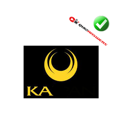 http://www.quizanswers.com/wp-content/uploads/2014/06/yellow-roundel-yellow-letters-k-a-logo-quiz-cars.png
