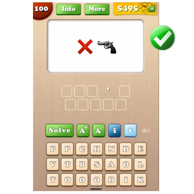 http://www.quizanswers.com/wp-content/uploads/2014/07/Emoji-Words-Answers-Level-100.png