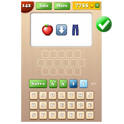Emoji Words Answers Level 141-160 - Quiz Answers