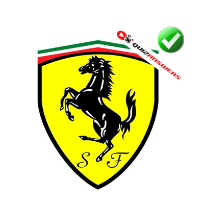 http://www.quizanswers.com/wp-content/uploads/2014/07/yellow-shield-black-horse-logo-quiz-ultimate-cars.png