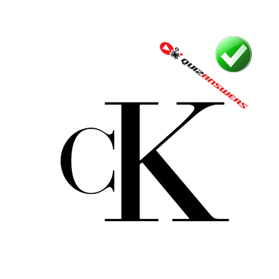 http://www.quizanswers.com/wp-content/uploads/2014/10/black-letters-c-k-logo-quiz-ultimate-fashion.png
