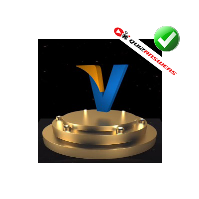 http://www.quizanswers.com/wp-content/uploads/2014/11/blue-letter-v-yellow-dash-3d-logo-quiz.png