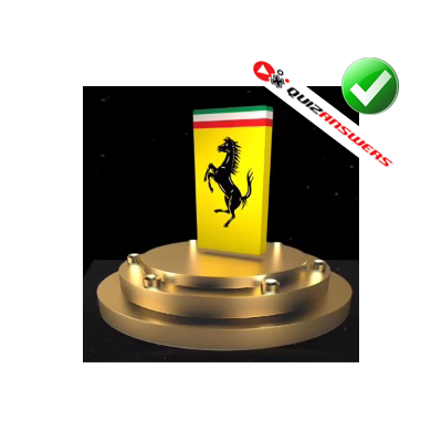 http://www.quizanswers.com/wp-content/uploads/2014/11/yellow-rectangle-black-prancing-horse-3d-logo-quiz.png