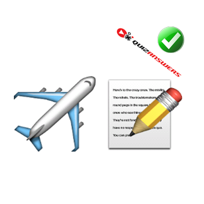 http://www.quizanswers.com/wp-content/uploads/2015/01/airplane-paper-pencil-guess-the-emoji.png