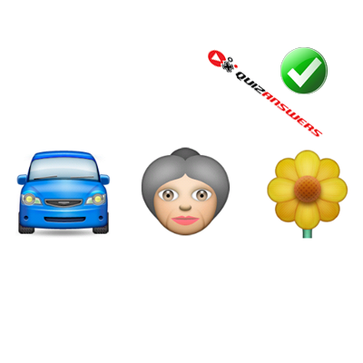 http://www.quizanswers.com/wp-content/uploads/2015/01/car-woman-flower-guess-the-emoji.png