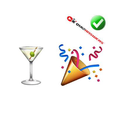 http://www.quizanswers.com/wp-content/uploads/2015/01/cocktail-glass-party-cone-guess-the-emoji.jpg