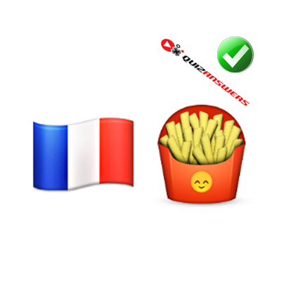 http://www.quizanswers.com/wp-content/uploads/2015/01/french-flag-fried-potatoes-guess-the-emoji.png