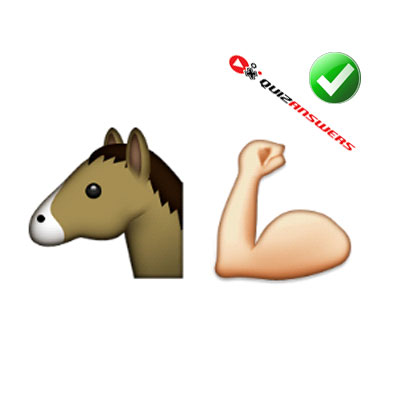 http://www.quizanswers.com/wp-content/uploads/2015/01/horse-head-muscle-arm-guess-the-emoji.jpg
