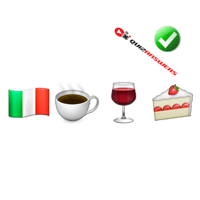 http://www.quizanswers.com/wp-content/uploads/2015/01/italian-flag-coffee-wine-cake-guess-the-emoji.png