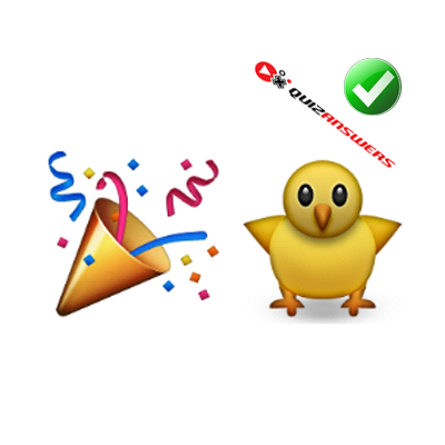 http://www.quizanswers.com/wp-content/uploads/2015/01/party-cone-yellow-chicken-guess-the-emoji.png