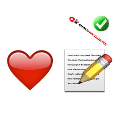 http://www.quizanswers.com/wp-content/uploads/2015/01/red-heart-paper-pencil-guess-the-emoji.png