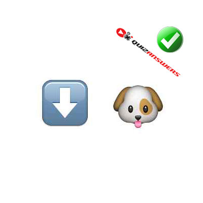http://www.quizanswers.com/wp-content/uploads/2015/02/arrow-dog-guess-the-emoji.jpg