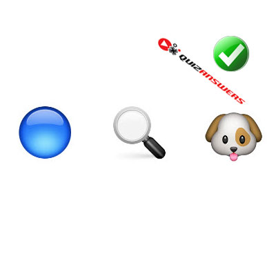 http://www.quizanswers.com/wp-content/uploads/2015/02/blue-circle-looking-glass-dog-guess-the-emoji.jpg