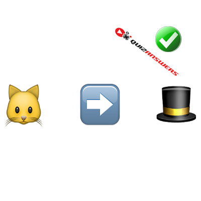 http://www.quizanswers.com/wp-content/uploads/2015/02/cat-arrow-top-hat-guess-the-emoji.jpg
